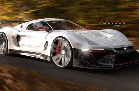 2020 Honda Invisus — возможный «убийца» Aston Martin Vulcan и Ferrari FXX K