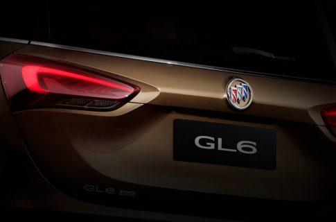 Минивэн Buick GL6 — создан исключительно для Китая