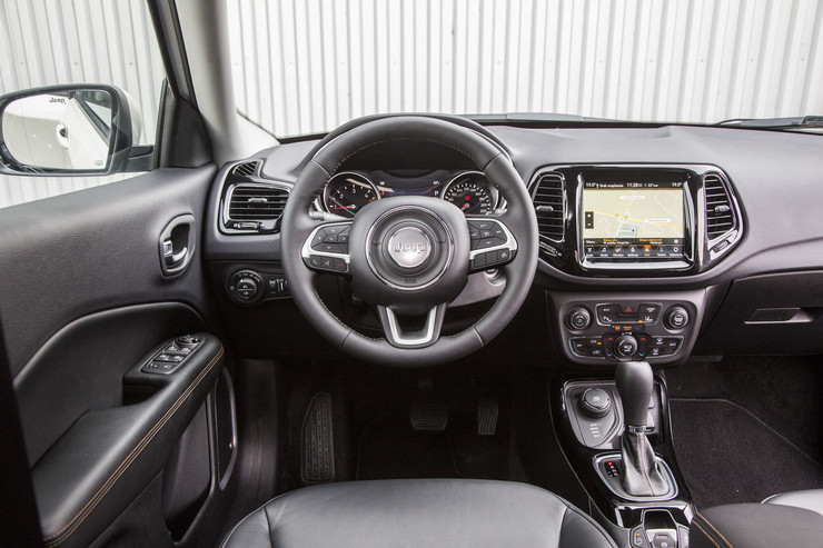 Салон Jeep Compass 2.0 Multijet