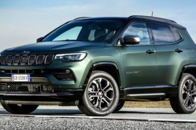 Новый Jeep Compass 2021 после рестайлинга