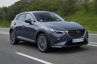 2021 Mazda CX-3 после рестайлинга