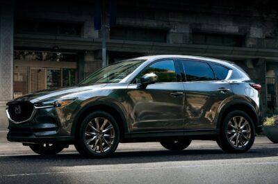 Новая Mazda CX-5 2021 после рестайлинга
