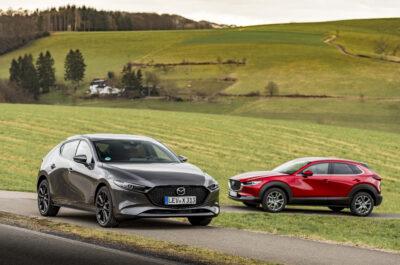 Тест-драйв гибридных Mazda 3 и Mazda CX-30